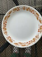 Set 4 Vintage Corelle Harvest Home Autumn Wheat 10 1/4' Dinner Plates