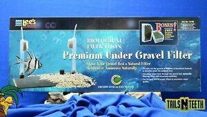 """Lee's Premium Under Gravel Filter for 29L/30 Gal Aquariums - 12"""" x 30"""" #13156"""