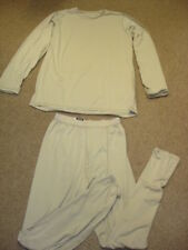 Gen III ECWCS level 1 Silk Thermal Tan Top and  Bottom Set All Sizes