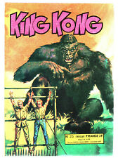# KING KONG n°25 #   # 1977 ED. OCCIDENT