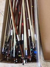 15 Student Violin/Viola Cello bows for sale