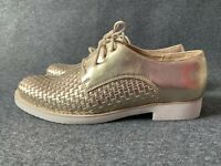 New! Primadonna women's shoes size 7 gold flats boots trainers EU 40