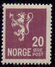 Norway #118 (137) 20ore Lion, og, Nh, Vf, Scott $149.00
