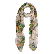 Elegant Vintage Paisley Graphic Scarf - Different Colors Available