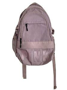 Victorias Secret PINK Large School Campus Laptop Backpack Lilac bookbag