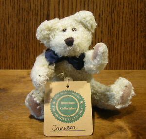 """Boyds Plush #57251-10 JAMESON J BEANSFORD, 6"""" NEW/Tag From Retail Store, Jointed"""