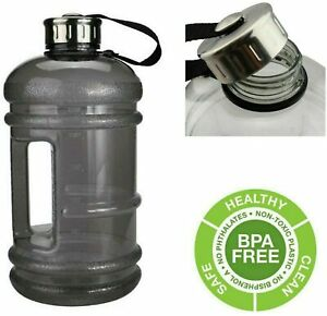 2.2L Extra Large BPA Free Sports Bottle Gym Training Weight Lifting Water Cap
