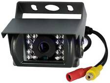 18 IR LEDs Waterproof Rear View Night Vision Truck Bus Van Monitor Backup Camera