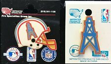 Set of 2 Houston Oilers Vintage Logo Pins IMPRINTED PRODUCTS