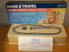 NOS Home & Travel Reverse Osmosis RO Water Purifier Aqua-Rite By Premier USA!