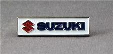Metallo Smalto Spilla Badge Spilla Suzuki Motociclista Moto Logo Rettangolo