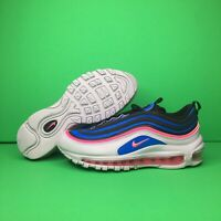 Nike Air Max 97 GS Size 6Y Womens 7.5 Platinum Blue Pink 921522-012 Running Shoe