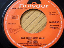 "MIKE HUGG - BLUE SUEDE SHOES AGAIN  7"" VINYL"