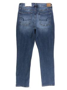 "AMERICAN EAGLE Hi-Rise Skinny Jeans Women's 12 Short Super Stretch W31"" L29"" NWT"