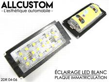 LED LUZ LUCES PLACA MATRICULA BLANCO POTENTE para BMW E46 3er COUPE 2004-06 & M3