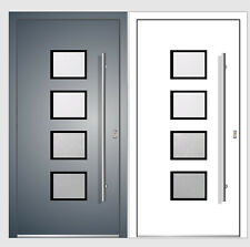 WeltHaus Haustür WH75 Aluminium mit Kunststoff DD535 Salza Tür Türen AKTION