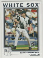 2004 Topps Baseball Chicago White Sox With Traded Team Set
