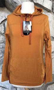 NWT Outdoor Research Women's Size L Red Rock Hoody Pumpkin Hoodie Sweatshirt
