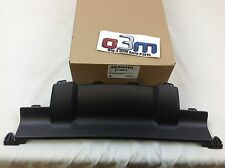 Chevrolet Equinox Rear Bumper Fascia black Hitch close out Cover Panel new OEM