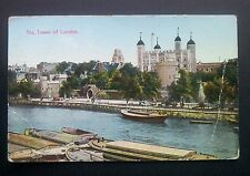 The Tower Of London Pre WW2 1933 Postmark Vintage Original Picture Postcard
