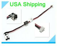 Original DC power jack cable harness for Toshiba Satellite L855-S5255 L855-S5385