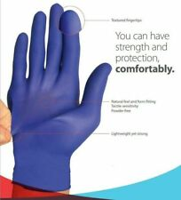Premium Disposable Nitrile Exam Gloves Powder Free Strong Non Latex Non Vinyl