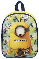NEU Minions Rucksack Schultasche Rucksack gelb Kinder Kind Junior Jungen Mädchen