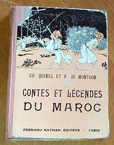CONTES ET LEGENDES DU MAROC 1937. Mythes Histoires Contes Livres pour enfants