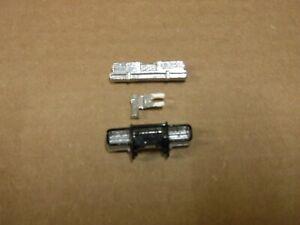Aurora afx reproduction front bumper w/crash bar rear bumperand radar gun