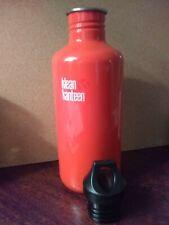 Klean Kanteen Classic 40 oz stainless steel bottle with loop cap