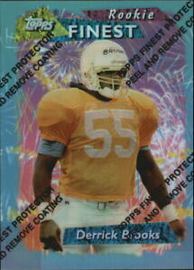 1995 Finest Football Card #193 Derrick Brooks Rookie
