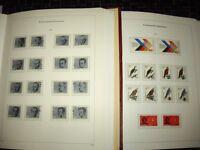 Bund 1960 - 1982 ** + gest. in 2 KABE-Bicollect-Alben