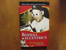 BILL Spaceman LEE Signed 1990 Card w/Book Baseball Eccentrics'-07 1st Edit Hardb