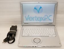 "Panasonic Toughbook CF-C1 12"" Core i5 2.50GHz 2GB 250GB Windows 10 64 bit tablet"