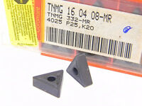 NEW SURPLUS 10PCS. SANDVIK  TNMG 332MR  GRADE: 4025  CARBIDE INSERTS