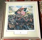 Eagle of the Eighth-Rare! FRAMED LTD. ED. CIVIL WAR LITHOGRAPH BY DON TROIANI -