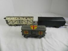 American Flyer O Gauge Prewar Lot of 3 Hand Painted Train Cars
