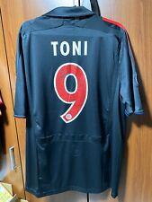 Original Toni Euro Cup matchworn Spielertrikot FC Bayern München 2007/2008