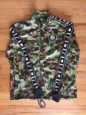 Men's Medium Bape X Puma Track Jacket Camo