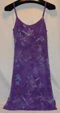 Caribbean Blues Cute Purple Hawaiian Strappy Sun Dress, One Size Free Shipping!
