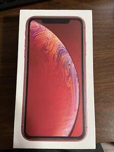 Apple iPhone XR (PRODUCT)RED - 128GB - A1984 (CDMA + GSM) Unlocked