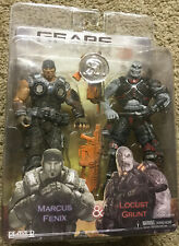 NECA Gears of War 3 marcus fenix & locust grunt 2 pack Toys R US exclusive NIB