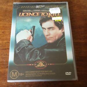 Licence to Kill DVD Timothy Dalton R4 BRAND NEW SEALED! FREE POST