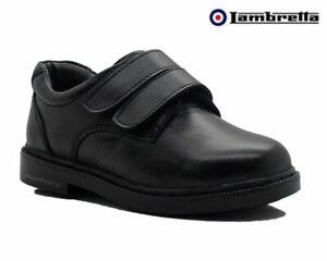 NEW Boys Kids Lambretta Leather School Wedding Shoes UK Size 10K 11K 12K 13 1