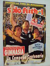 GIMNASIA LA PLATA Champion Copa Centenario 1993 Rare SOLO FUTBOL Magazine