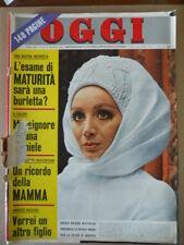 OGGI n°20 1969 Maria Grazia Buccella - Test Nuova Giulia Super [G802]