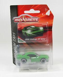 Dodge Challenger SRT Hellcat grün,  Majorette 212053052  1/64