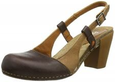 ART WOMEN'S I FEEL GAUCHO SLINGBACK LEATHER SHOES – BROWN – SIZE 6 (EU 39)– BNIB