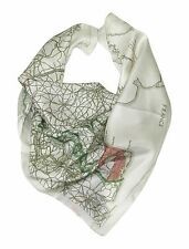 Silk WW2 Escape Map Scarf - Official IWM World War 2 Costume Scarves memorabilia