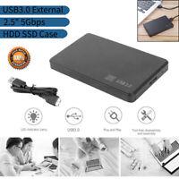 "2.5"" Hard Disk Case SATA USB 3.0 HDD SSD Box 5Gbps Hard Drive Enclosure External"